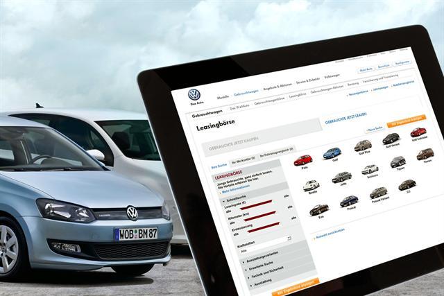 Immer ein hochwertiges Auto zu günstigen Monatsraten: In der neuen Leasingbörse kann man online das passende Auto aussuchen und beim Händler in der Nähe leasen. - Foto: djd/Volkswagen Financial Services AG
